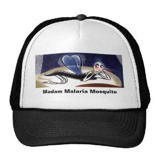 Vintage Madam Malaria Mosquito Trucker Hat. Cap