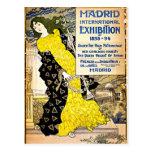 Vintage: Madrid International Exposition, 1893-94 Postcard