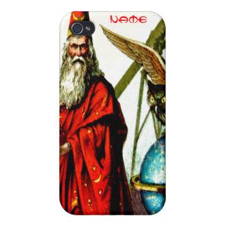 Vintage Magic Wizard School Merlin Fantasy World iPhone 4/4S Cases