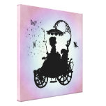 Vintage Magical Carriage Gallery Wrap Canvas