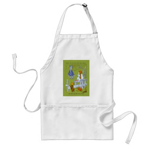Vintage Magician of Oz, Dorothy / Toto Tale Gifts Apron