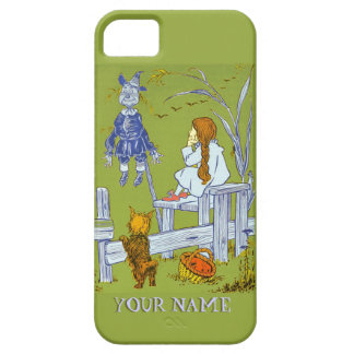 Vintage Magician of Oz, Dorothy / Toto Tale Gifts iPhone 5 Case