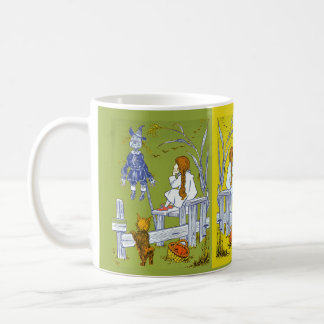 Vintage Magician of Oz, Dorothy / Toto Tale Gifts Classic White Coffee Mug