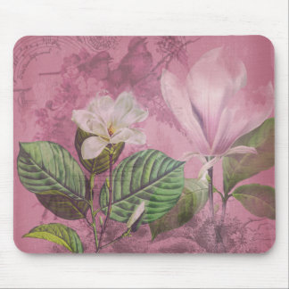 Vintage Magnolia Song Apparel and Gifts Mouse Pad