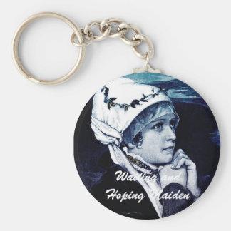 Vintage Maiden Keychains