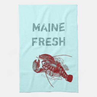 Vintage Maine Fresh Lobster Tea Towel