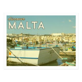 Vintage Malta Postcard