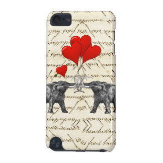 Vintage mammoths and hearts iPod touch 5G cover