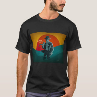 Vintage Man Black T-Shirt