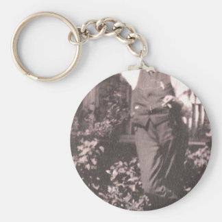 Vintage Man Key Chain