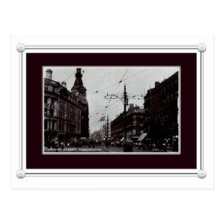 Vintage Manchester postcard