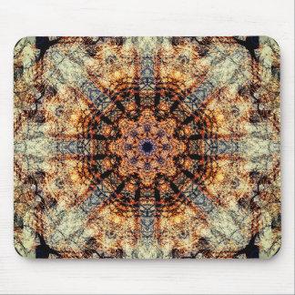 Vintage Mandala Art Mouse Mat