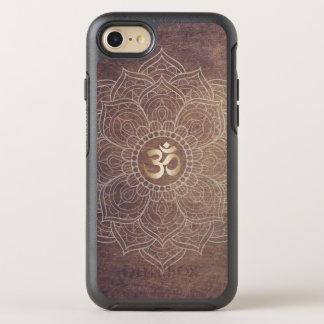 Vintage Mandala Namaste Gold Yoga Om Sign Elegant OtterBox Symmetry iPhone 8/7 Case