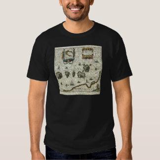 vintage map 1 shirts