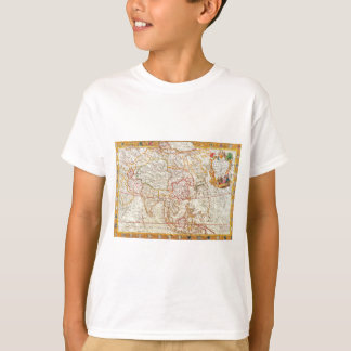 vintage map 2 tee shirt