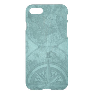 Vintage Map and Compass iPhone 8/7 Case