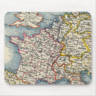 Vintage Map Central Europe Mouse Mat