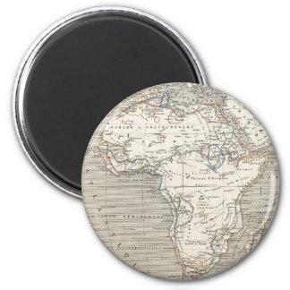 Vintage Map of Africa magnet