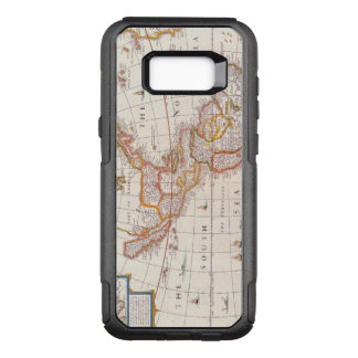 Vintage Map of America Circa 1676 OtterBox Commuter Samsung Galaxy S8+ Case