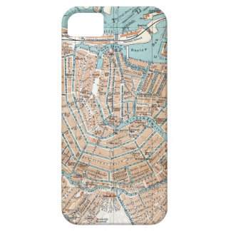Vintage Map of Amsterdam (1905) Barely There iPhone 5 Case