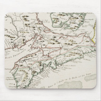 Vintage Map of Arcadia (1757) Mouse Pad