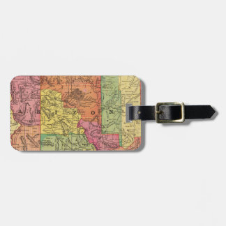 Vintage Map of Arizona (1909) Luggage Tag
