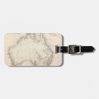 Vintage Map of Australia (1848) Luggage Tag