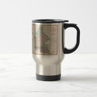 Vintage Map of Bavaria Germany (1799) Stainless Steel Travel Mug