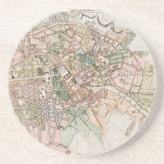 Vintage Map of Berlin (1811) Coaster