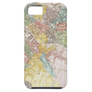 Vintage Map of Berlin (1846) iPhone 5 Cover