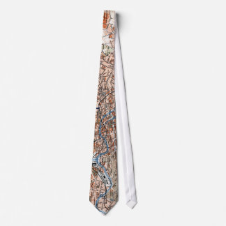 Vintage Map of Berlin Germany (1894) Tie