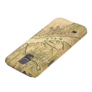 Vintage Map of California 1650 Samsung Galaxy Nexus Case