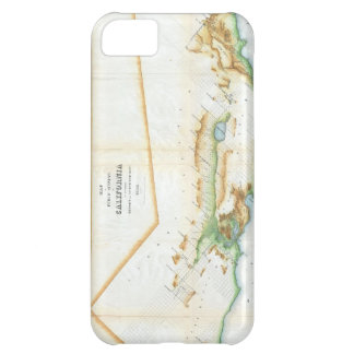 Vintage Map of California 1854 Cover For iPhone 5C