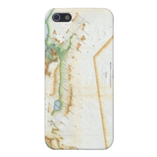 Vintage Map of California 1854 Cases For iPhone 5