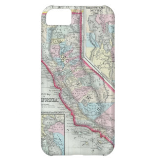 Vintage Map of California 1860 Cover For iPhone 5C