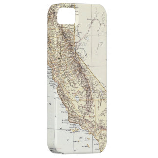 Vintage Map of California 1878 iPhone 5 Cover