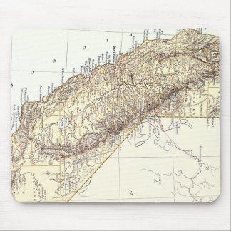 Vintage Map of California (1878) Mouse Pad
