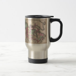 Vintage Map of Canada (1857) Travel Mug