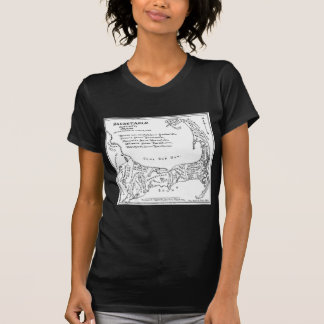 Vintage Map of Cape Cod (1890) T-Shirt