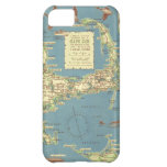 Vintage Map of Cape Cod (1940) iPhone 5C Covers