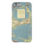 Vintage Map of Cape Cod (1940) iPhone 6 Case