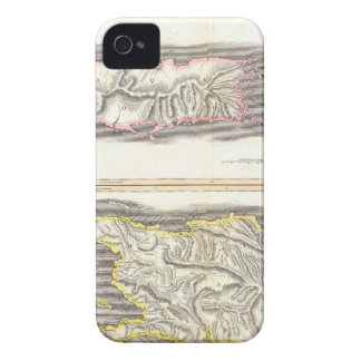 Vintage Map of Caribbean Islands (1815) iPhone 4 Cases