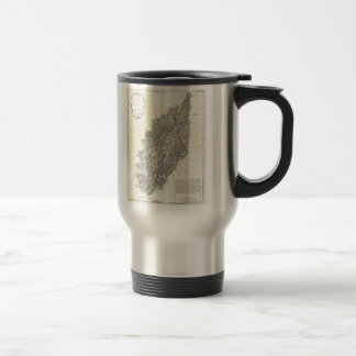 Vintage Map of Corsica (1794) 15 Oz Stainless Steel Travel Mug