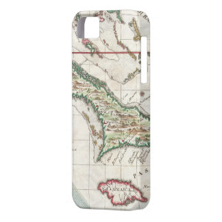 Vintage Map of Cuba and Jamaica (1763) iPhone 5 Cases