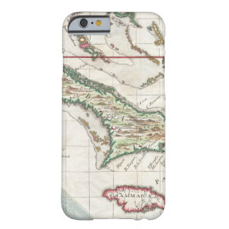 Vintage Map of Cuba and Jamaica 1763 iPhone 6 Case