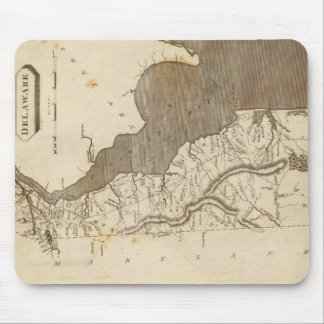 Vintage Map of Delaware (1804) Mouse Pad