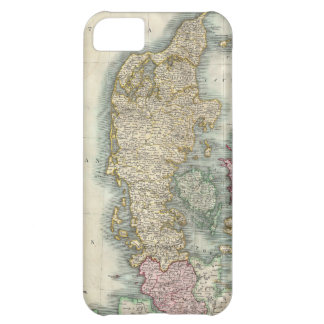 Vintage Map of Denmark 1801 Cover For iPhone 5C