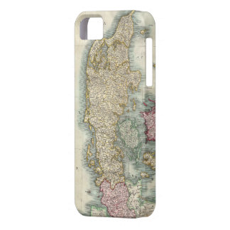 Vintage Map of Denmark (1801) iPhone 5 Cover