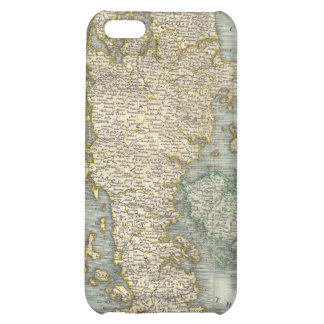 Vintage Map of Denmark 1801 iPhone 5C Case