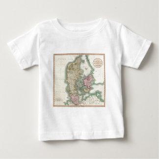 Vintage Map of Denmark (1801) Tee Shirt